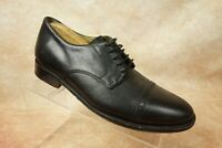 Brooks Brothers 346 Black Leather CapToe Oxford Derby Dress Shoes Mens Size 9.5D