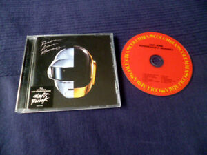 CD Get Lucky with Daft Punk - RANDOM ACCESS MEMORIES Lose Yourself To Dance 2013