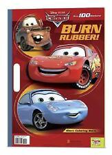 Burn Rubber! (Disney/Pixar Cars) - Good - RH Disney - Paperback