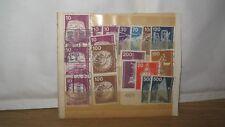 40 Briefmarken Bundespost Berlin, Industrie und Technik, Brandenburger Tor