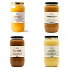 RAW Honey 1.4kg PURE 100% NATURAL Acacia, Buckwheat, Clover, Forest, Wildflower