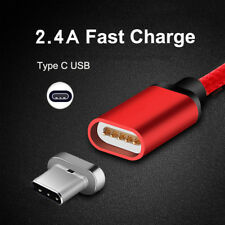 1/2/3M USB-C Magnetic Charger Type C USB Data Charging Cable For Samsung Note 8