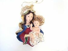 Katherine's Collection - Madonna and Child Ornament