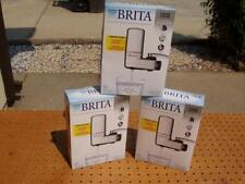 3 BRITA COMPLETE ON TAP FAUCET WATER FILTRATION SYSTEMS CHROME BRAND NEW NIB