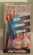 campitelli & dearth  BIO SPEED SHAPE full body workout for women VHS VIDEOTAPE