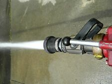"fire nozzle 1.5"" NH 95-200 gpm Akron Turbojet 1723 without grip 1 1/2 inch hose"