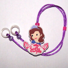 Children's Hearing Aid safety Leash RETAINER CLIP for 2 H.A.'s ..LIL' GIRL
