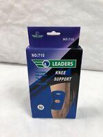 Leader Slip On Elastic Knee Support, Medium, 1ct