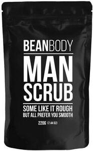 3 x Bean Body Coffee Body Scrub For Men Man Scrub 220g