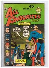 Colour Comics Pty Ltd. All Favourites #90 VG/F 1973 Australian