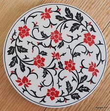 Turkish ceramic trivet ROUND- traditional Ottoman designs,16cm diameter #4