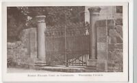 Shropshire; Roman Pillars Used As Gateposts, Wroxeter Church PPC Unposted, c 20s
