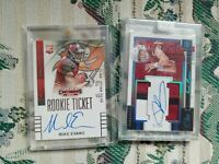 FOOTBALL ☆PREMIUM☆ HOT PACK REPACK 2 ROOKIE AUTOS ☆READ PLEASE☆ PATRICK MAHOMES