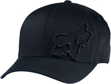 350ccdb6787 Fox Flex 45 Flexfit Hat-Black-L XL - Mens Lid Cap