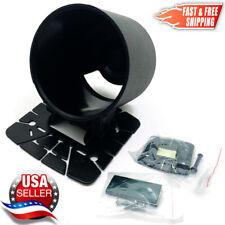 "Universal 52mm Gauge Pod XL Tilt Mount Holder Fits 2"" Defi - 3"" Extra Long Pod"
