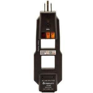 Triplett  ET200 AC Line Splitter and GFCI Outlet Receptacle Tester