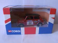 Corgi Austin Mini Cooper Akropolis Rallye 2003 Nicky West & Robert Stacey