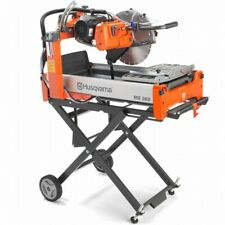 Husqvarna Ms360 14 Electric Brick Amp Block Saw Optional Stand Sold Separately