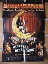 A1659   ACORDES Y DESACUERDOS    Sean Penn Morton Uma Thurman Woody Allen 1999