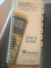 Woodhead NetAlarm DeviceNet Meter DN-MTR With Users Guide