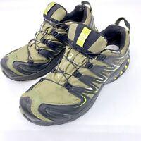 Salomon XA Pro 3D Trail Running Shoes Size 9 Ortholite Waterproof READ