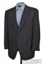 CHESTER BARRIE Gray Herringbone Check CASHMERE WOOL Blazer Sport Coat - 42 R
