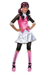 Monster High 'Draculaura' Girls Fancy Dress Costume