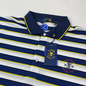 POLO RALPH LAUREN GOLF SHIRT 2020 US Open Winged Foot Size LARGE BRAND NEW