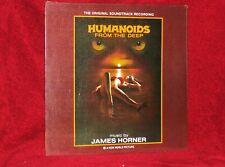 OST LP HUMANOIDS FROM THE DEEP JAMES HORNER 1981 CERBERUS ORIG PRESSING SEALED
