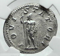 GORDIAN III Authentic Ancient 241AD Rome Silver Roman Coin JUPITER NGC i81345