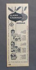 PUB PUBLICITE ANCIENNE ADVERT CLIPPING 161017/ COFFRET CADEAUX KODAK STARLET ETC