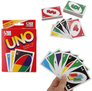 Classic UNO Card Game Number One For Family Fun