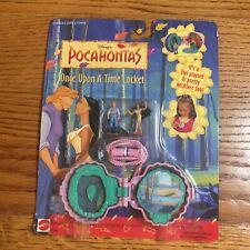 Disney Pocahontas Once Upon A Time Locket Mattel Toy Figure Necklace Set