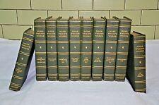 Antique 10 volume set UNIFORM EDITION OF MARK TWAIN'S WORKS Collier  c1917