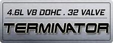 Mustang Cobra 4V [S1] Coil On Plug Cover Aluminum Plate - TERMINATOR_DISPLACEMT