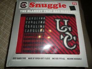 SNUGGIE COLLEGIATE USC UNIVERSITY SOUTH CAROLINA NEW IN BOX SIZE 68 in. x 55 in.