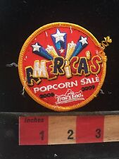 Fun Patch Stars AMERICA'S POPCORN SALE (used/recovered from scout vest) C748