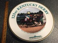 RARE Silver Charm 123rd Kentucky Derby Royal Doulton plate # Churchill Downs '97