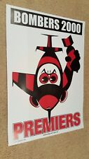 2000 ESSENDON BOMBERS GRAND FINAL PREMIERSHIP WEG POSTER SPECIAL PRINT