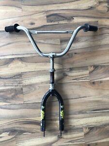 """Replacement Bike Fork 1"""" Threaded 16"""" Wheel 120mm Steerer Headset Handlebar Kids"""