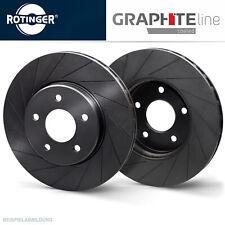 Rotinger Graphite Sport-Bremsscheibe Satz Vorderachse - Audi Q7 7L6615301E