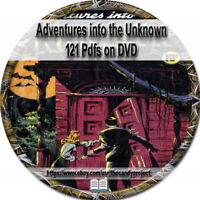 Adventures Into the Unknown Comic Books Horror Thriller Science Fiction  DVD