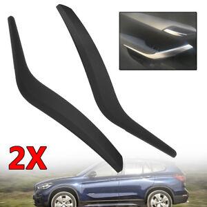 For BMW X1 E84 51412991776 Black Side Inner Door Panel Handle Pull Trim  ZL HL