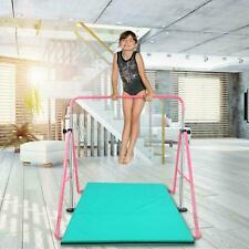 Gymnastics Horizontal Bar Kids Training Bars Expandable Gymnastic Folding Kip