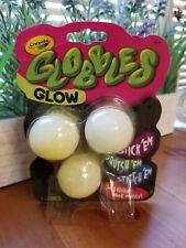 "TikTok Jukers ""GLOBBLES"" Crayola ""New Slime!"" 3 balls Glow in the Dark! No mess!"