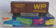 Roundhouse HO Western Pacific 40' Box Car #3417
