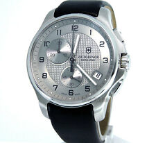 VICTORINOX SWISS ARMY MEN WATCH OFFICER'S CHRONOGRAPH 42mm SAPPHIRE 241553