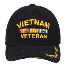 Rothco 9321 Vietnam Veteran Insignia Low Profile - Black