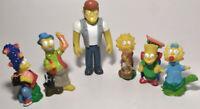 RARE Vintage 1990 The Simpsons McDonalds Toy Lot + Snake Jailbird