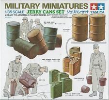 TAMIYA 1:35 KIT MILITARY MINIATURES ACCESSORI TANICHE JERRY CANS SET  ART 35026